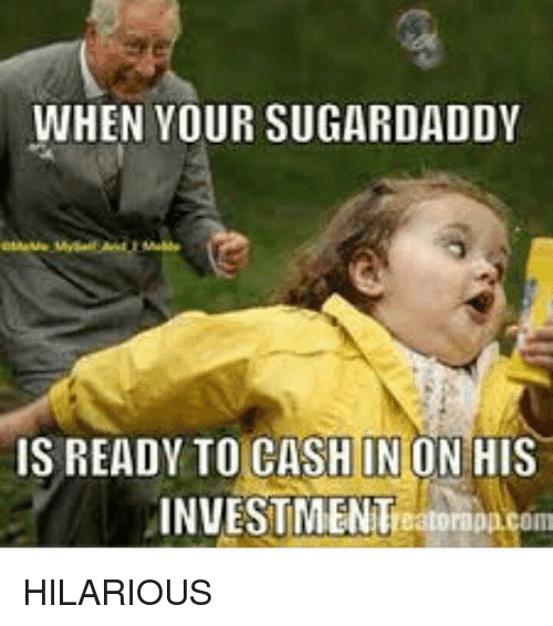 Sugar Daddy meme № 4